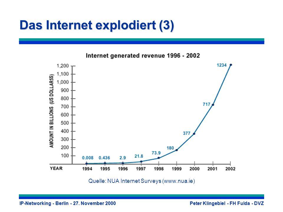 Das Internet explodiert (3)