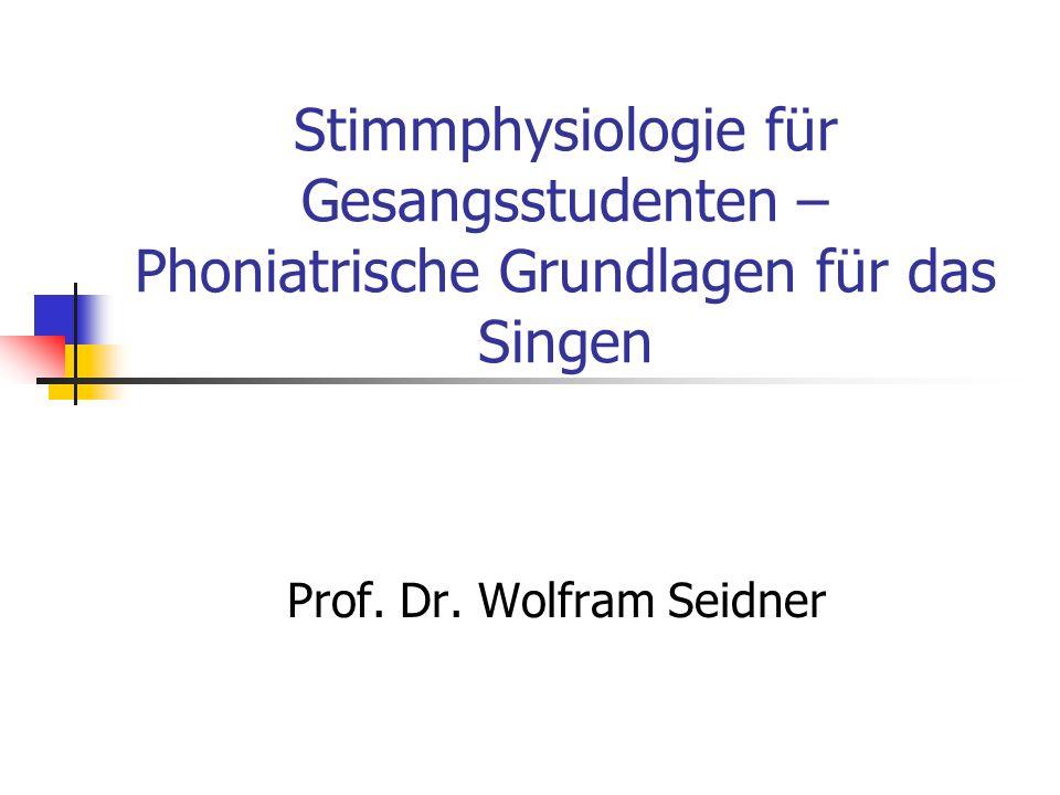 Prof. Dr. Wolfram Seidner