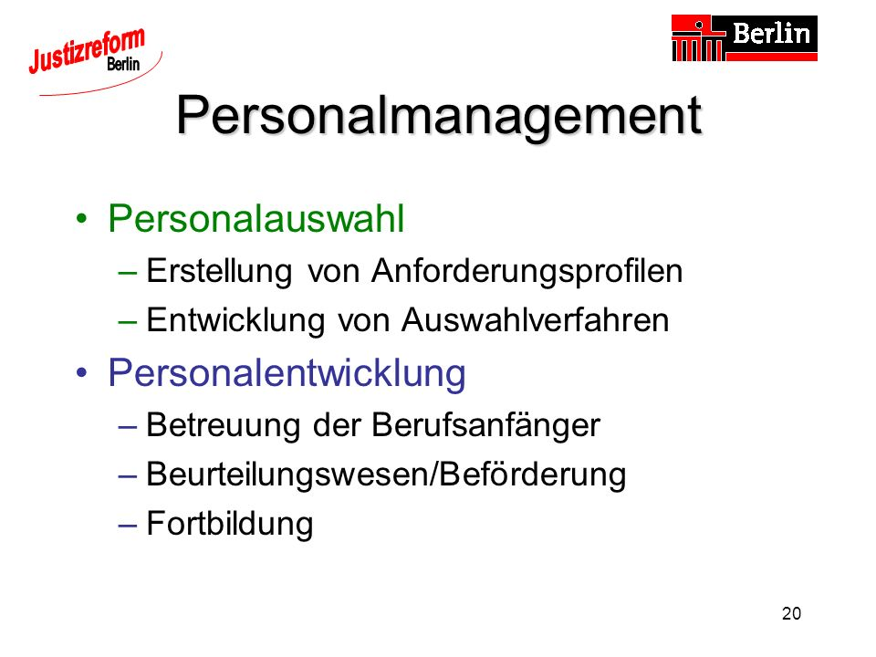 Personalmanagement Personalauswahl Personalentwicklung