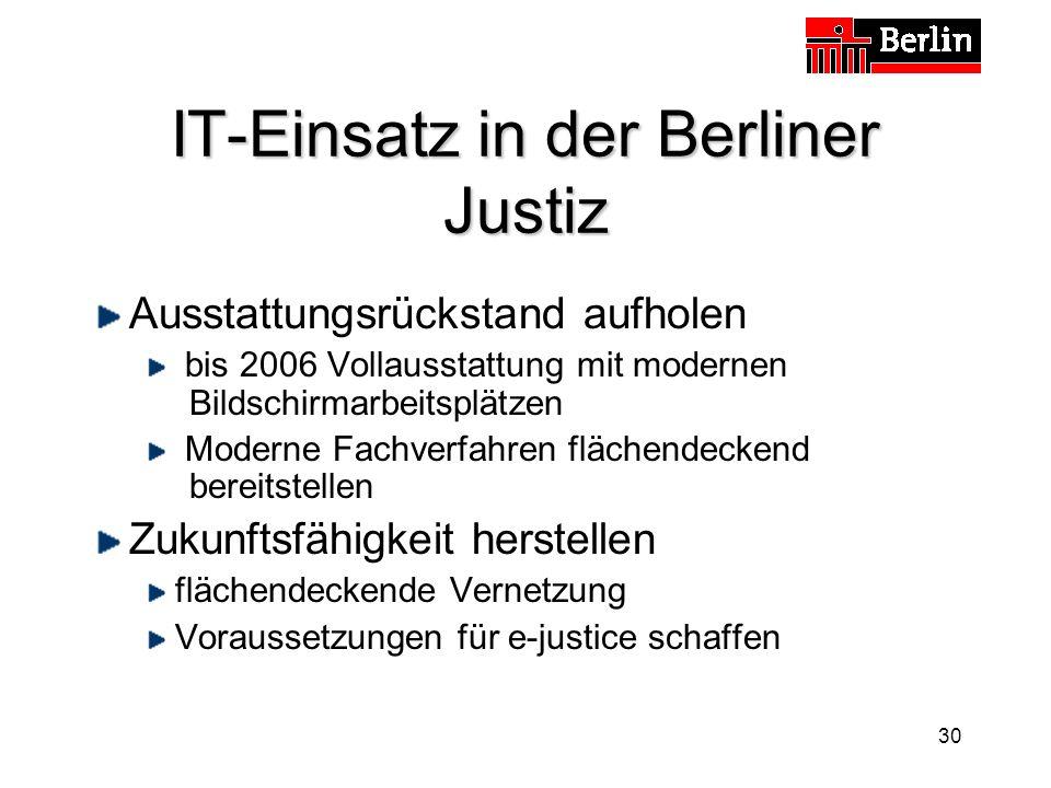 IT-Einsatz in der Berliner Justiz
