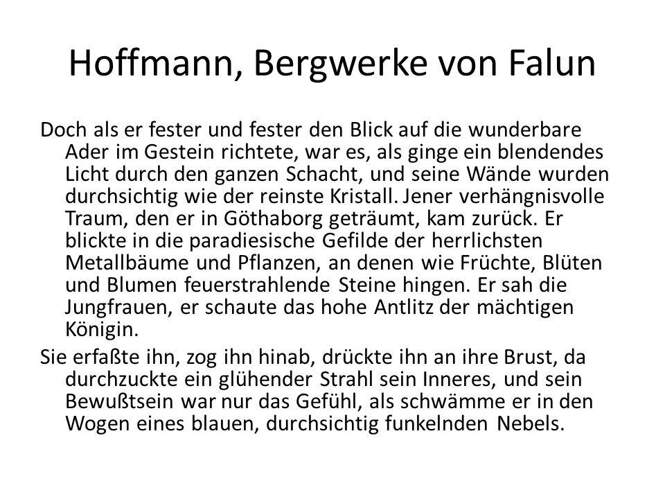 Hoffmann, Bergwerke von Falun