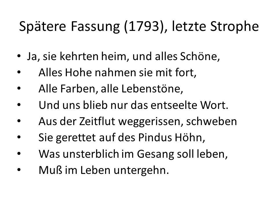 Spätere Fassung (1793), letzte Strophe