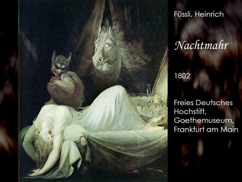 Nachtmahr Füssli, Heinrich 1802