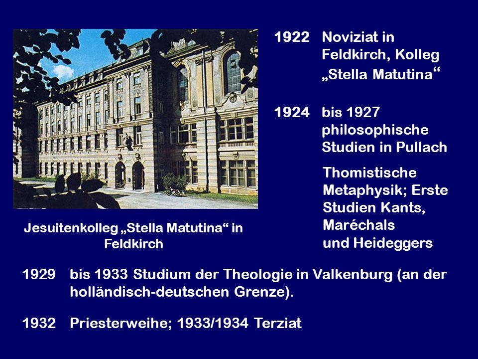 """Jesuitenkolleg """"Stella Matutina in Feldkirch"""