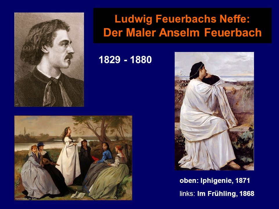 Ludwig Feuerbachs Neffe: Der Maler Anselm Feuerbach