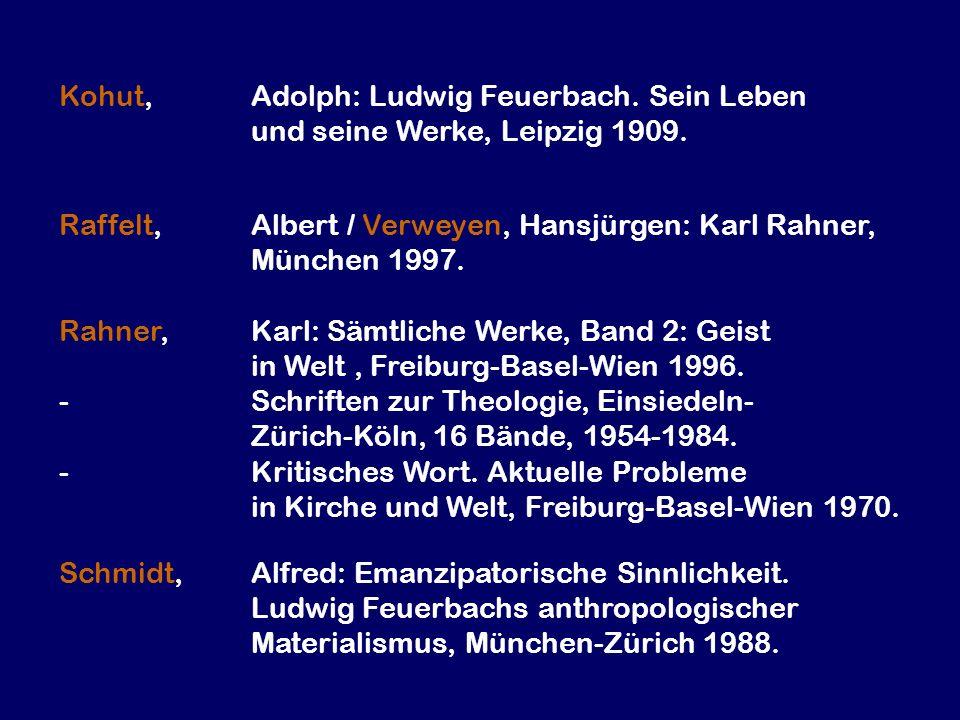 Kohut,. Adolph: Ludwig Feuerbach. Sein Leben