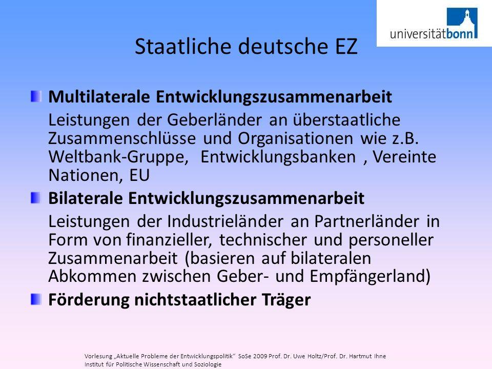Staatliche deutsche EZ