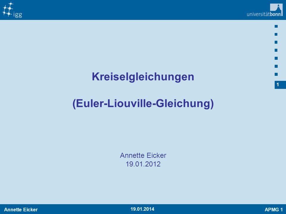 (Euler-Liouville-Gleichung)