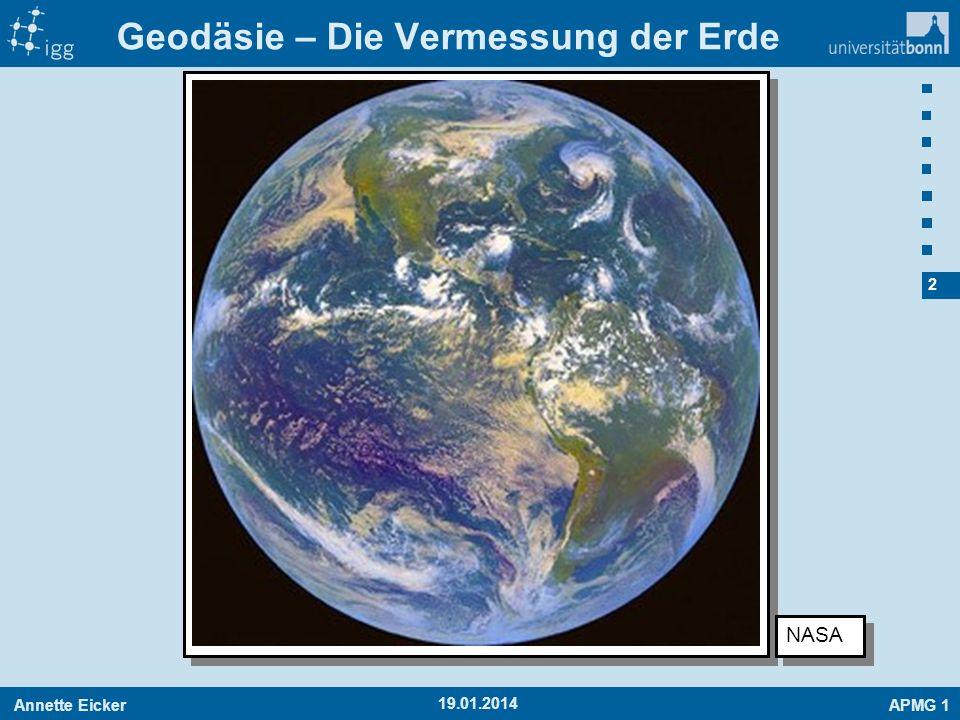 Geodäsie – Die Vermessung der Erde