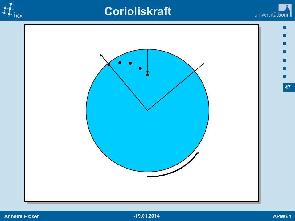 Corioliskraft 27.03.2017