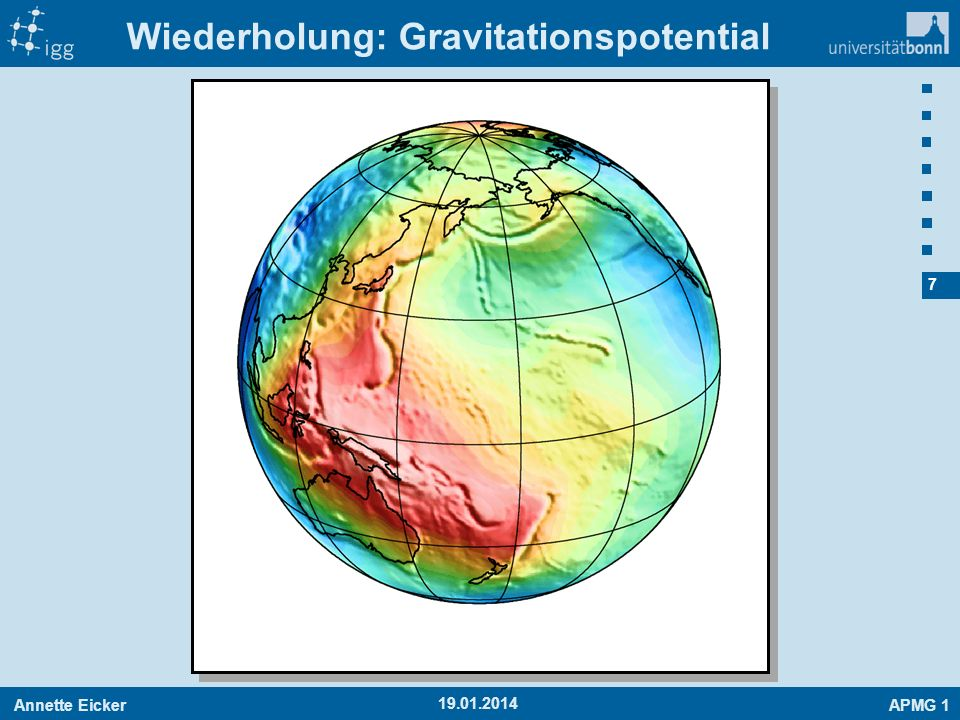 Wiederholung: Gravitationspotential