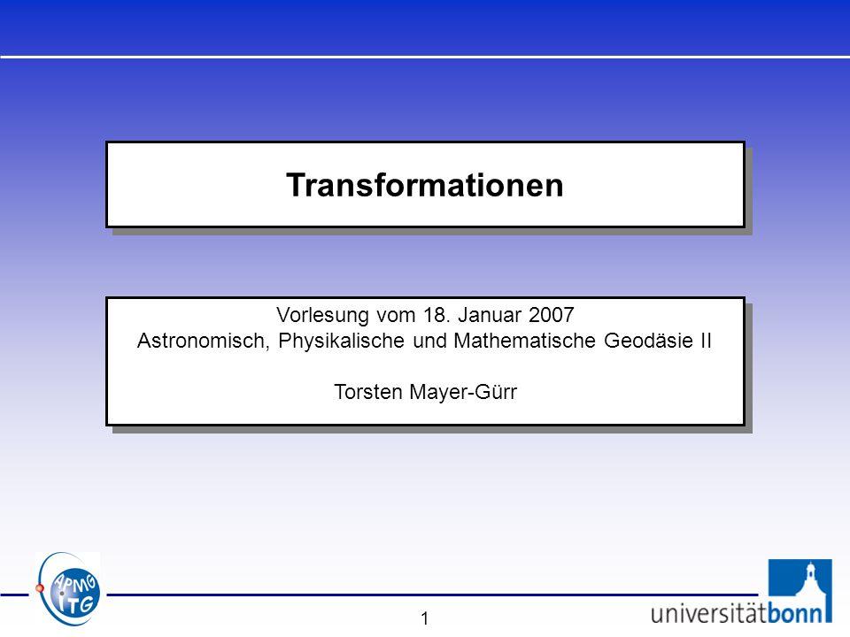 Astronomisch, Physikalische und Mathematische Geodäsie II