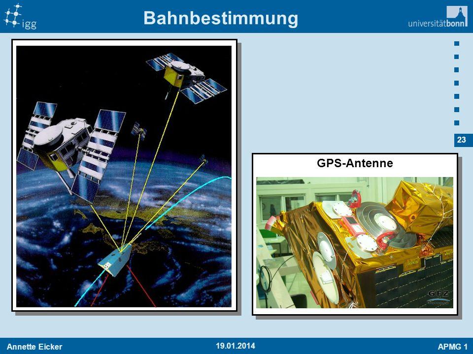 Bahnbestimmung GPS-Antenne 27.03.2017