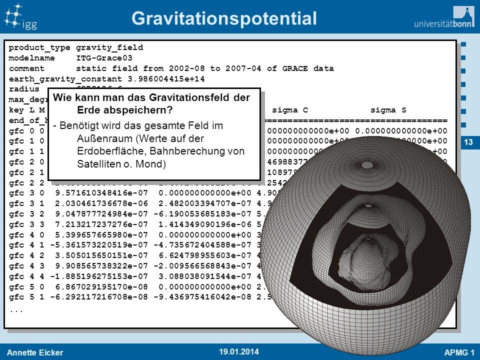 Gravitationspotential