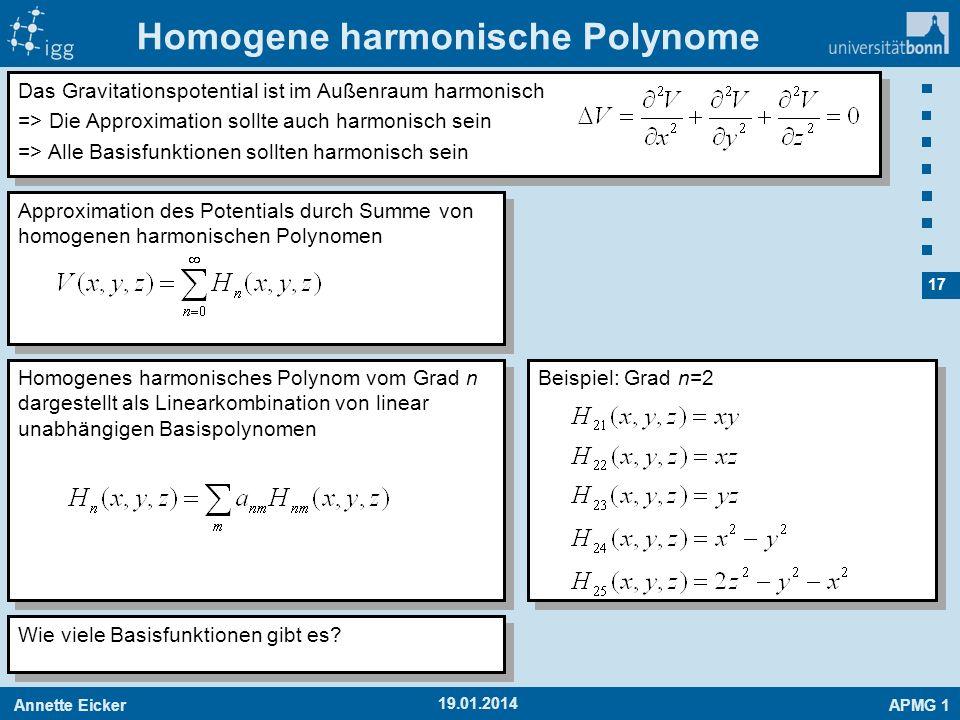Homogene harmonische Polynome