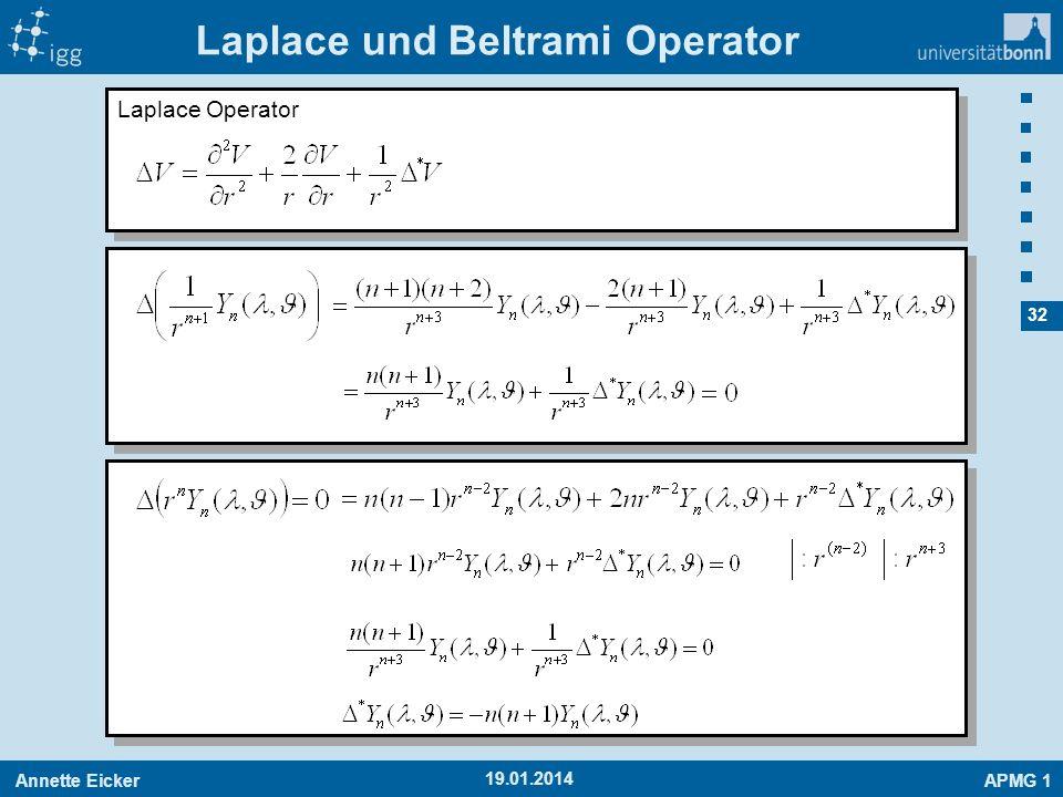 Laplace und Beltrami Operator