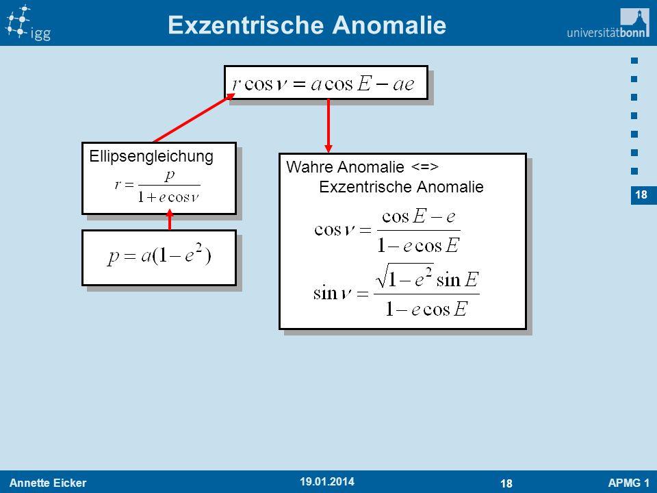 Exzentrische Anomalie