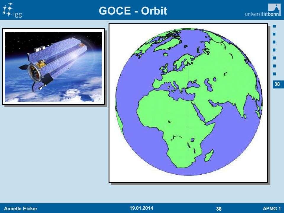 GOCE - Orbit 27.03.2017