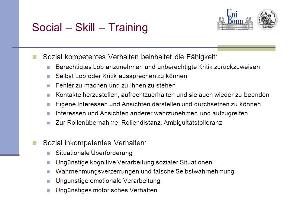 Social – Skill – Training