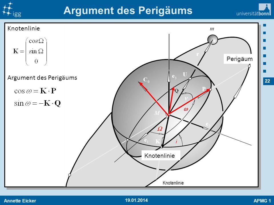 Argument des Perigäums