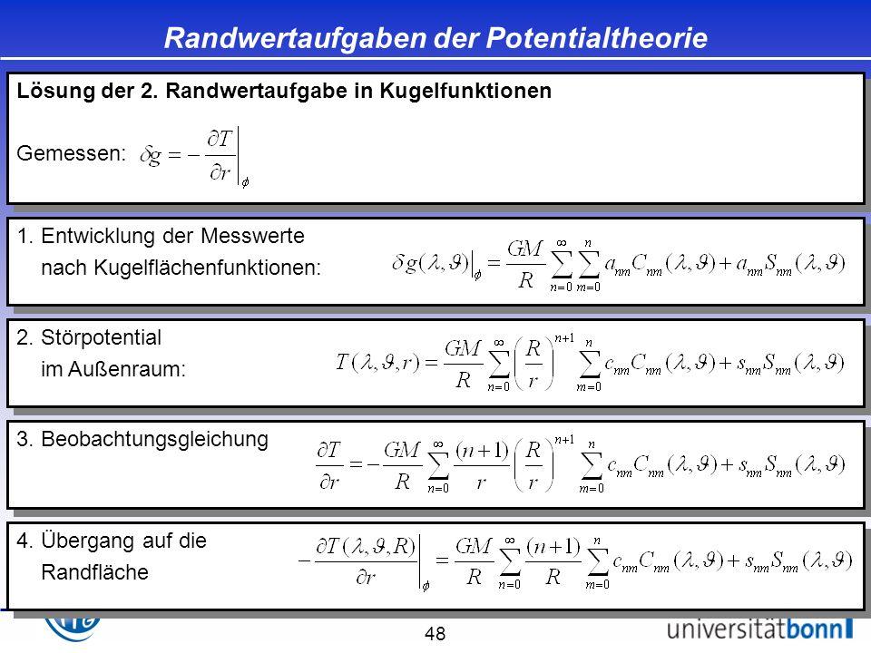 Randwertaufgaben der Potentialtheorie