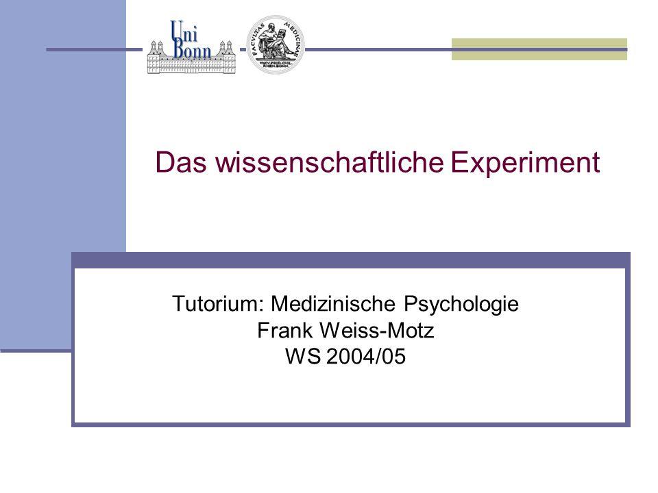 Das wissenschaftliche Experiment - ppt video online herunterladen