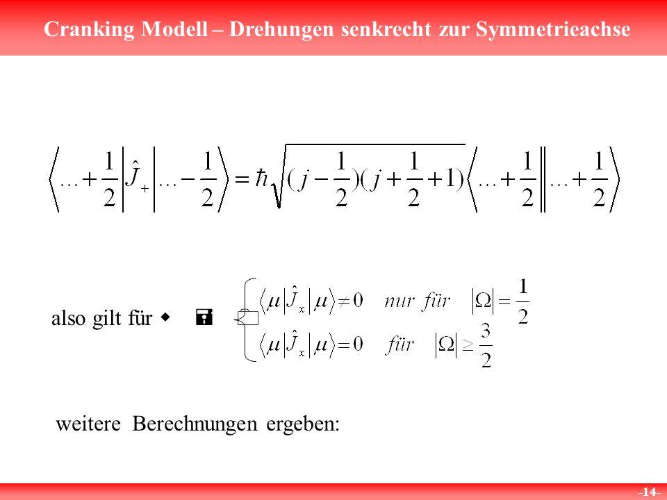 also gilt für w = 0 weitere Berechnungen ergeben: