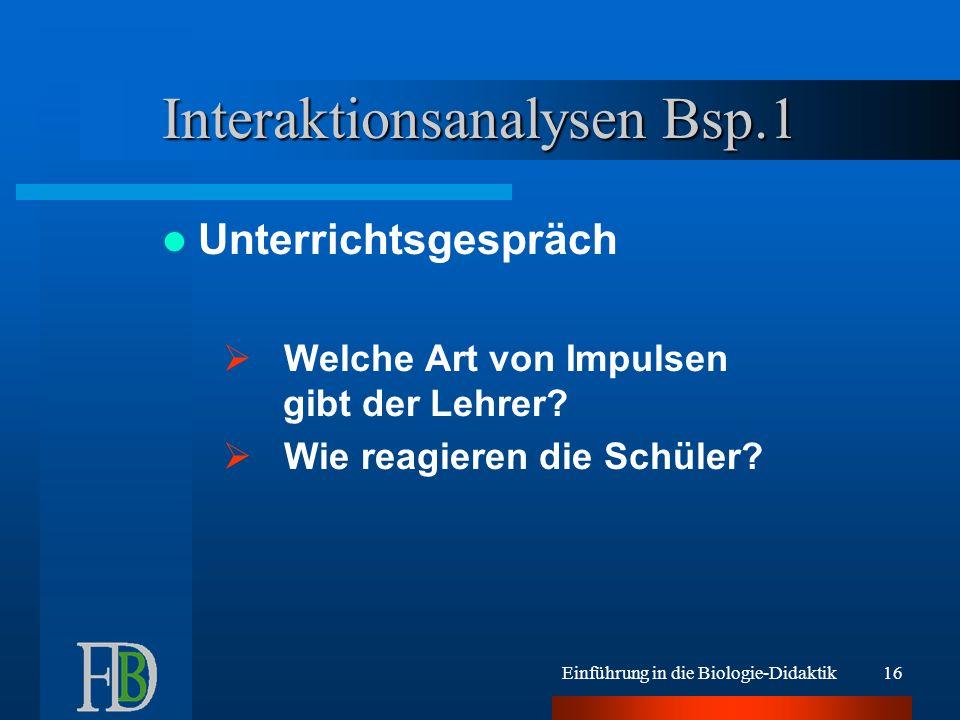 Interaktionsanalysen Bsp.1