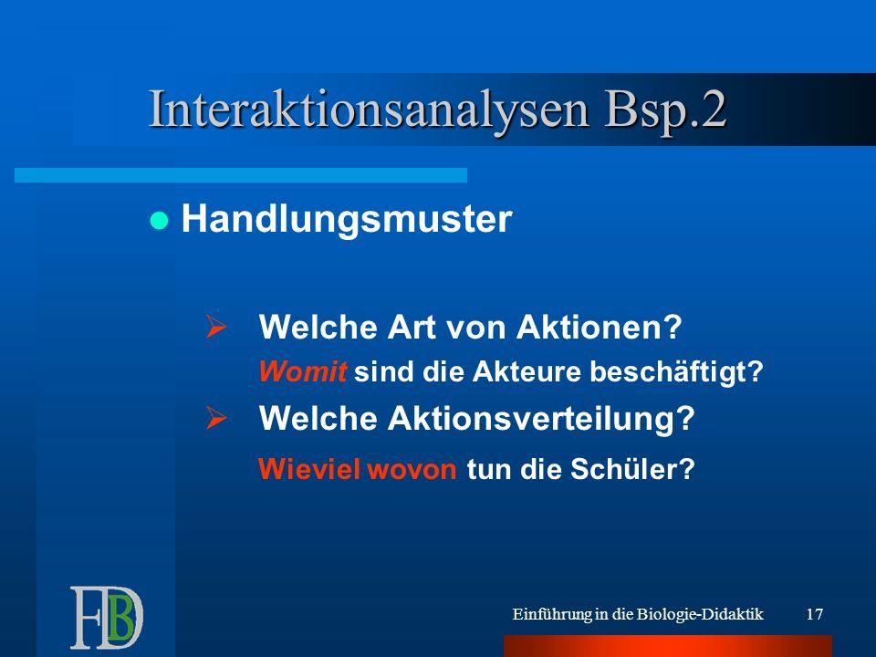 Interaktionsanalysen Bsp.2