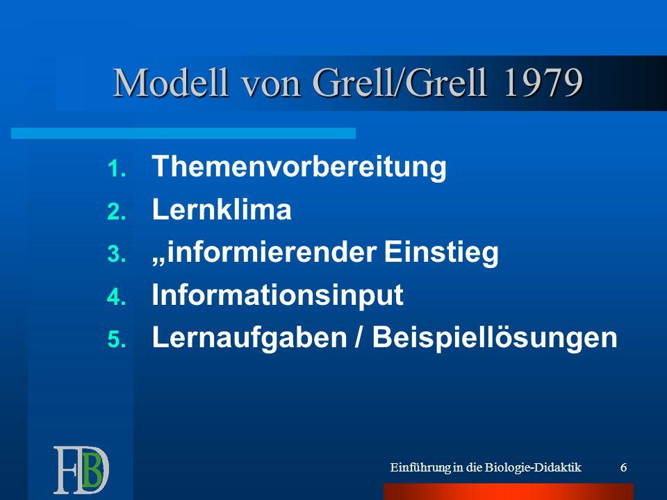 Modell von Grell/Grell 1979