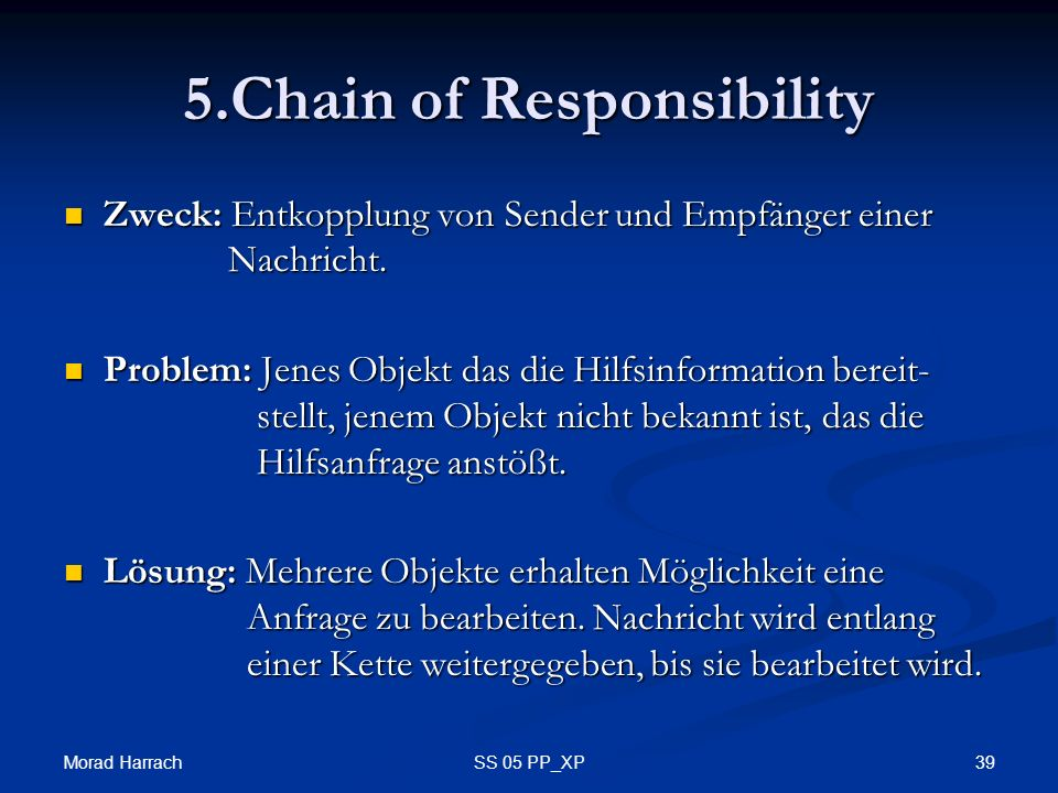 5.Chain of Responsibility