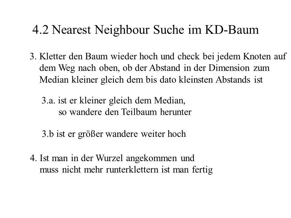 4.2 Nearest Neighbour Suche im KD-Baum
