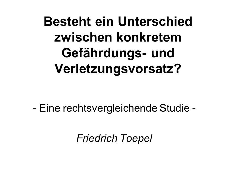 - Eine rechtsvergleichende Studie - Friedrich Toepel