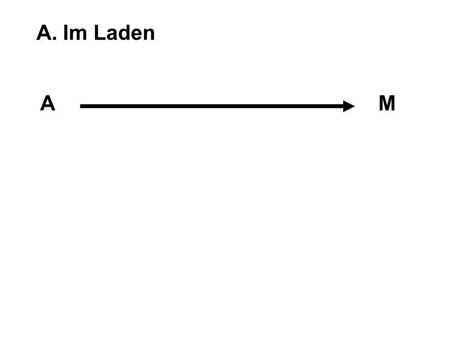 A. Im Laden A M