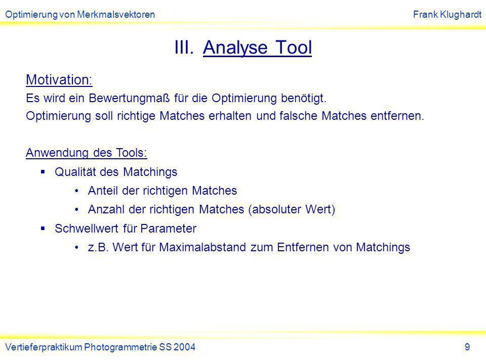 Analyse Tool
