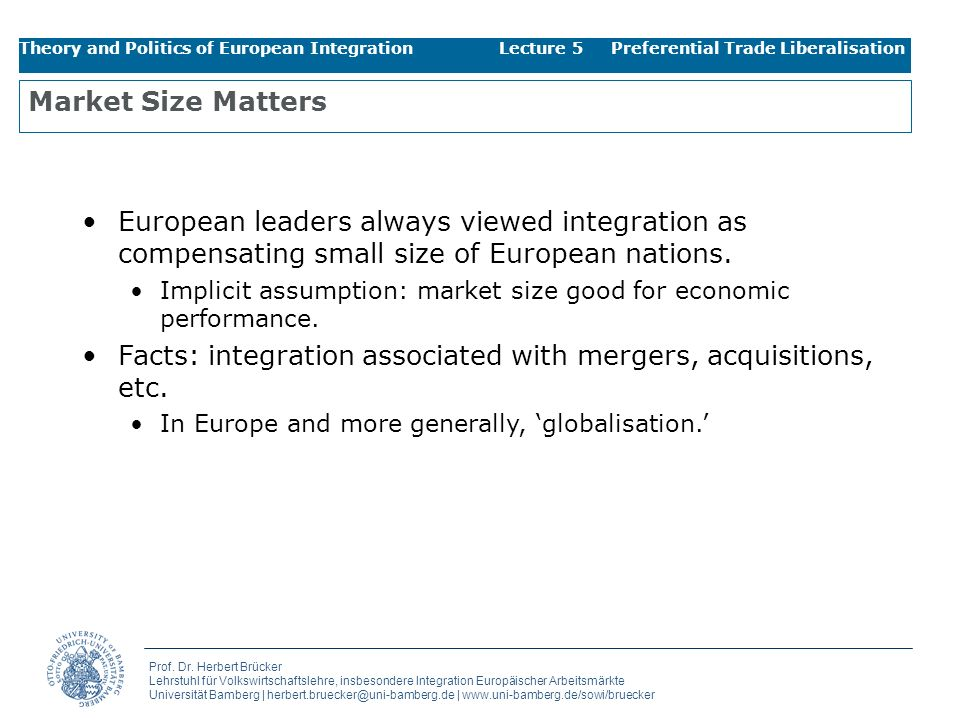 Facts: integration associated with mergers, acquisitions, etc.