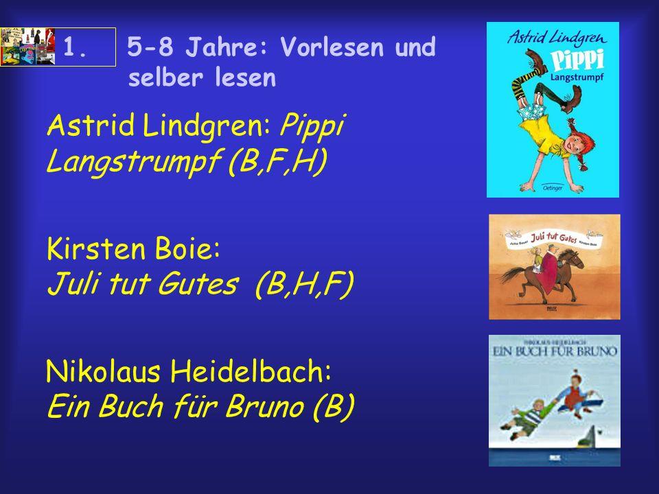 Astrid Lindgren: Pippi Langstrumpf (B,F,H)