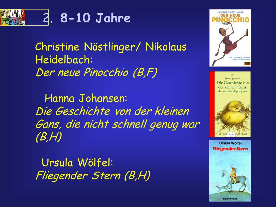 Christine Nöstlinger/ Nikolaus Heidelbach: Der neue Pinocchio (B,F)