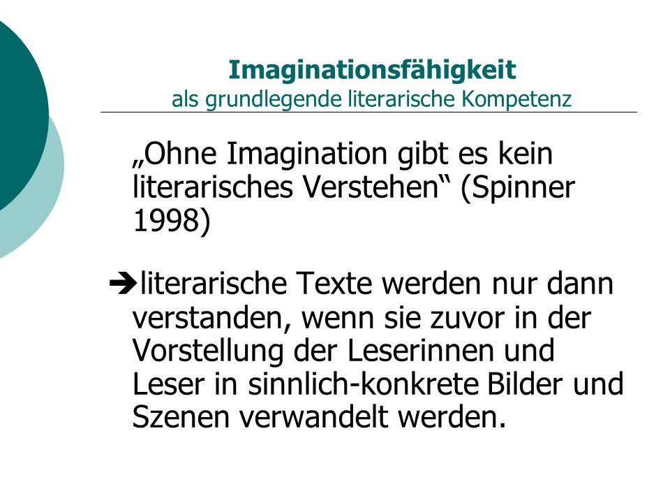 Imaginationsfähigkeit als grundlegende literarische Kompetenz