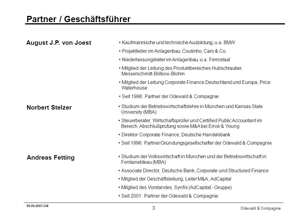 Partner / Geschäftsführer