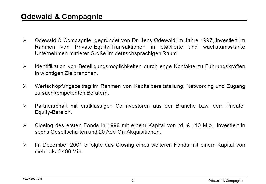 Odewald & Compagnie