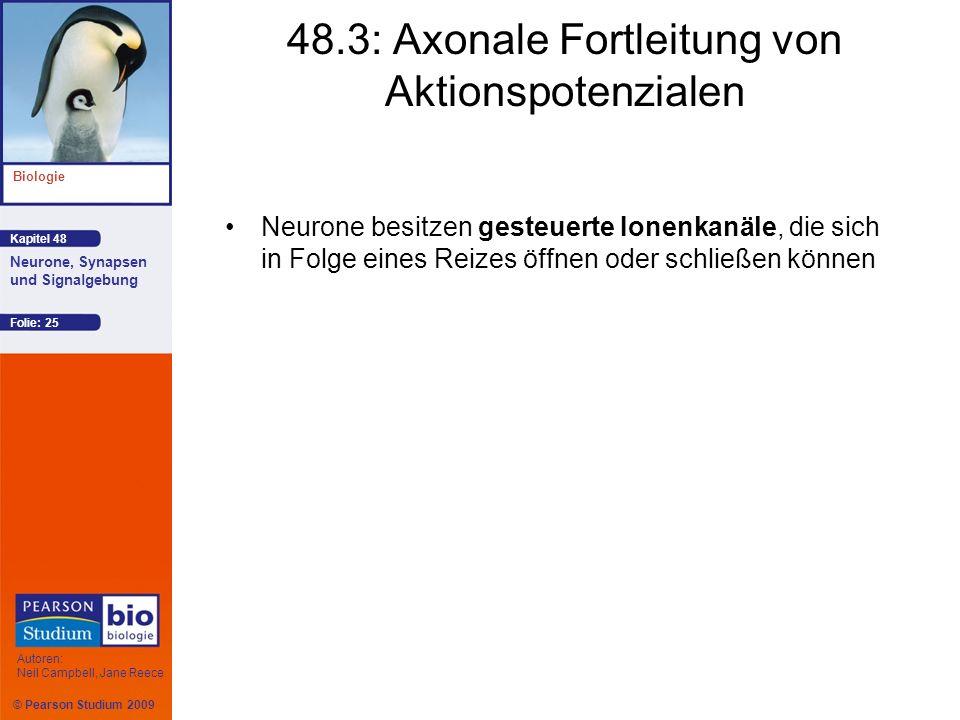 48.3: Axonale Fortleitung von Aktionspotenzialen