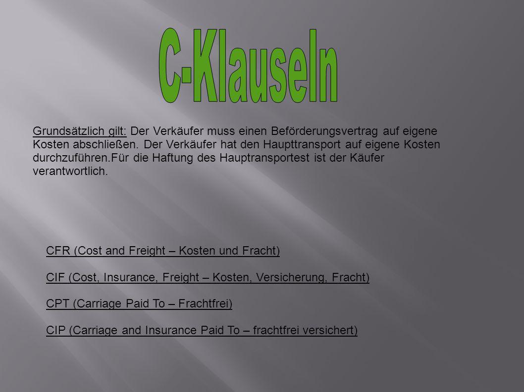C-Klauseln