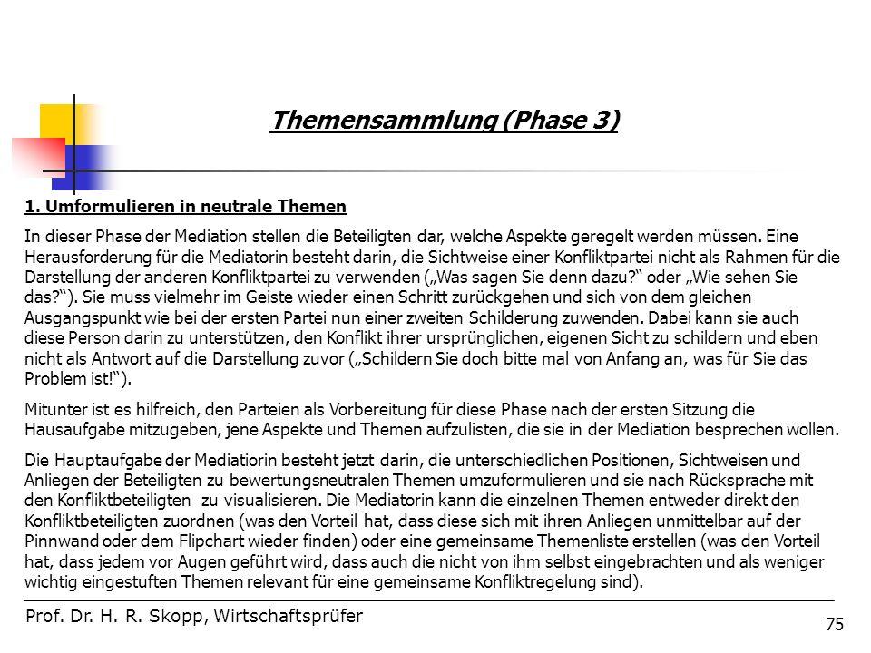 Themensammlung (Phase 3)