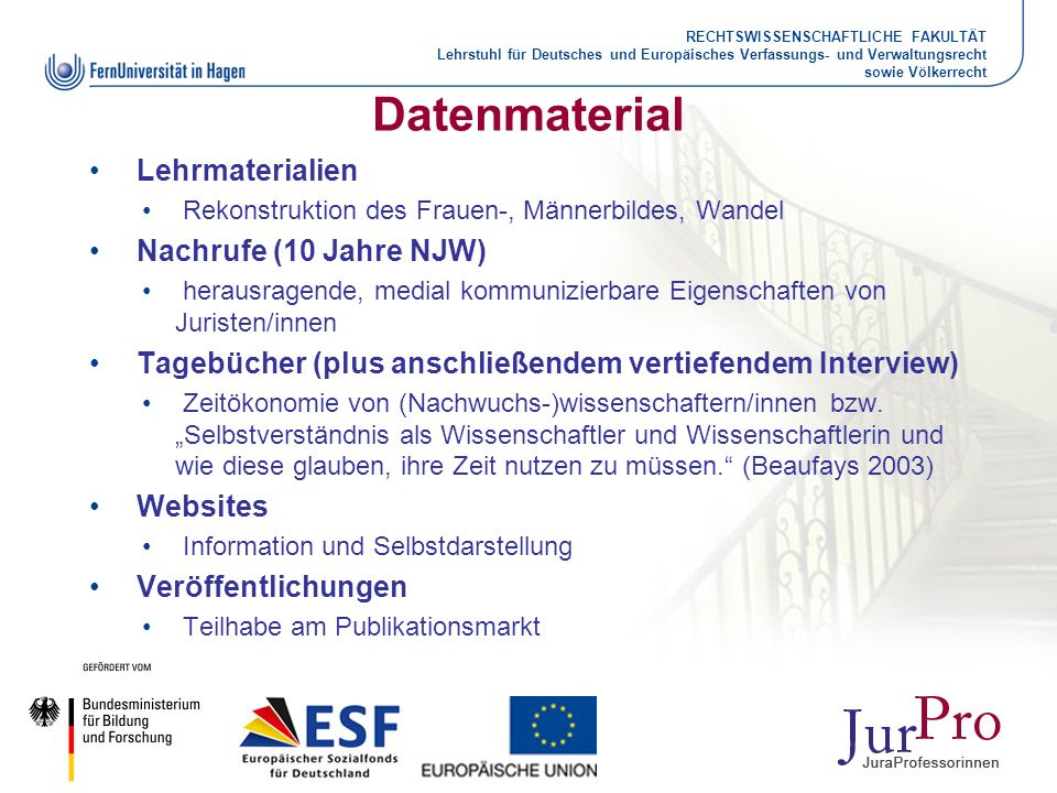 Datenmaterial Lehrmaterialien Nachrufe (10 Jahre NJW)