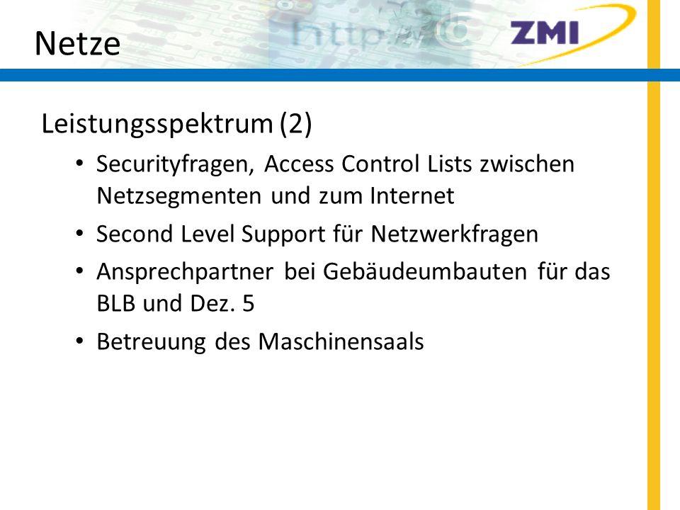 Netze Leistungsspektrum (2)