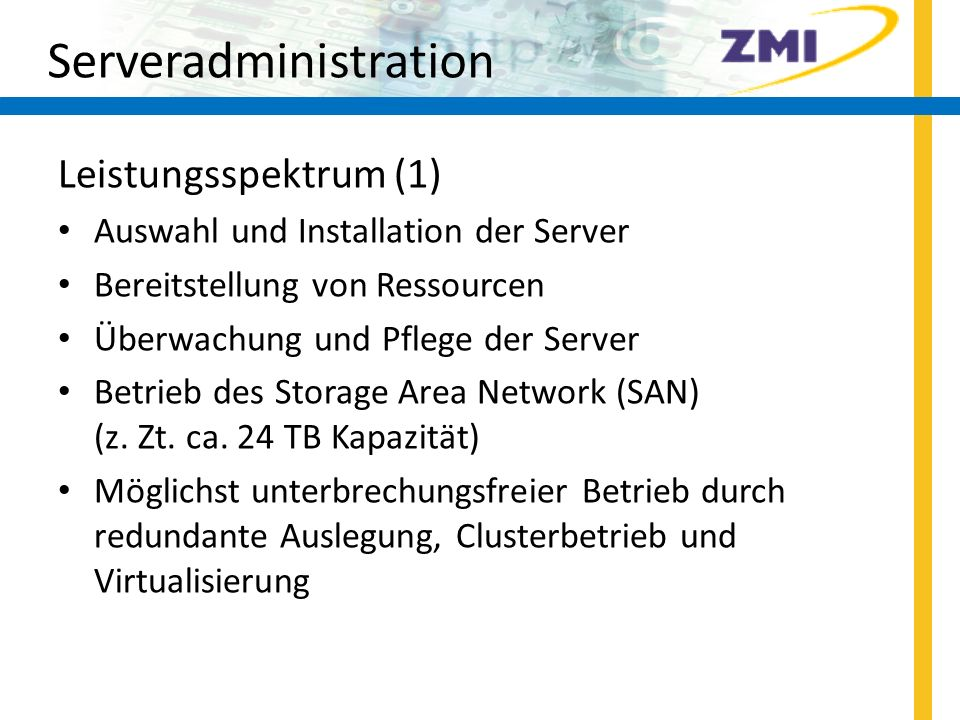 Serveradministration