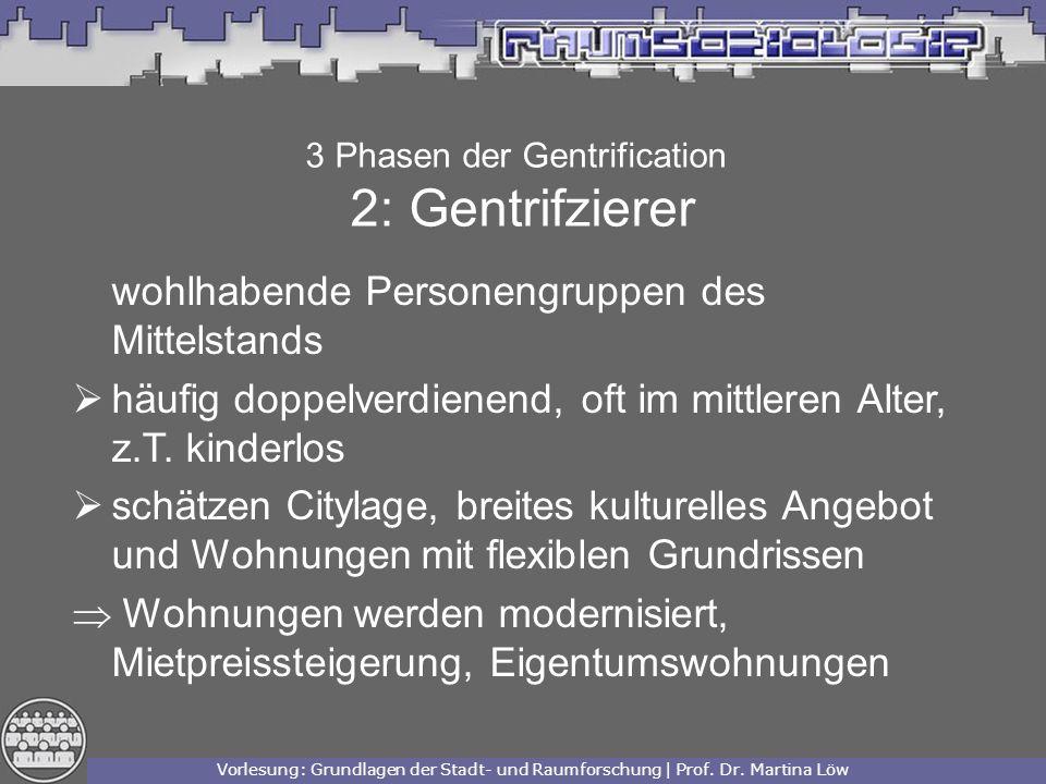 3 Phasen der Gentrification 2: Gentrifzierer