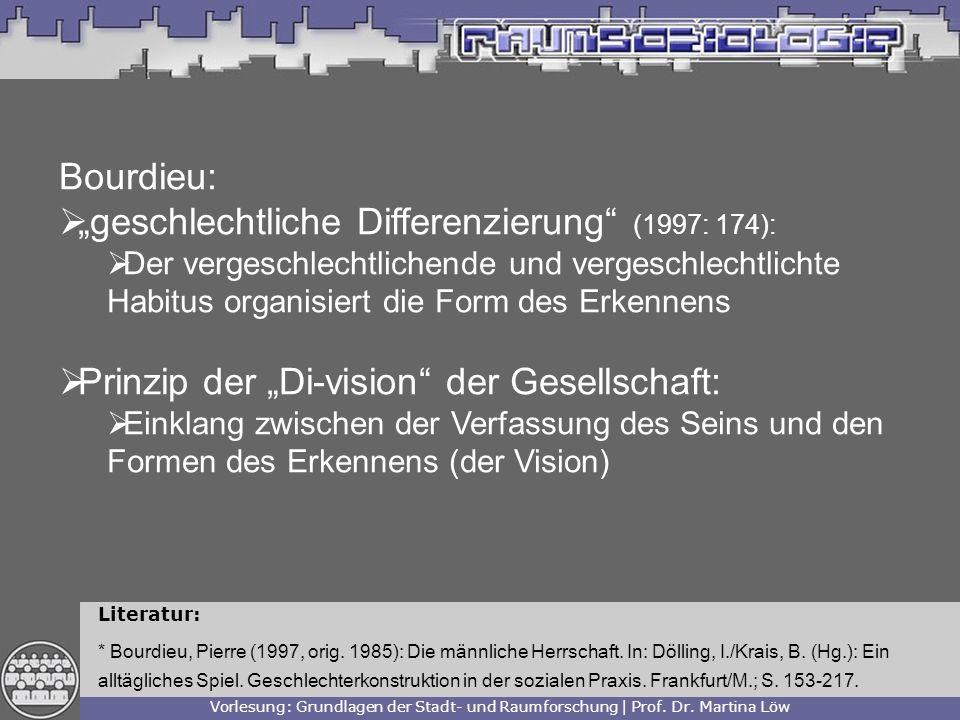 """""""geschlechtliche Differenzierung (1997: 174):"""