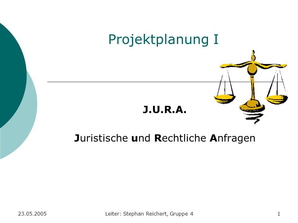 J.U.R.A. Juristische und Rechtliche Anfragen